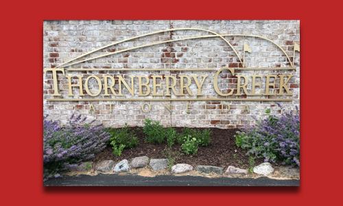 Thornberry Creek sign