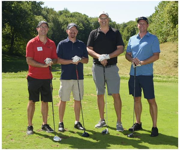 Hager Dewick & Zuengler S.C. team 1 golfers