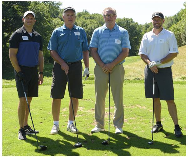Hawkins Ash CPAs golfers