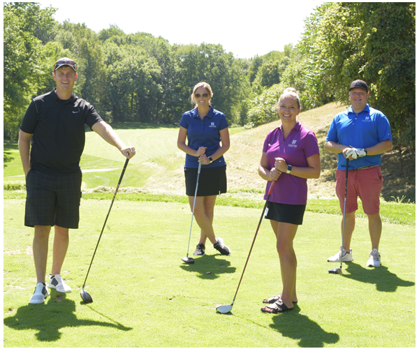 Investors Community Bank golfers