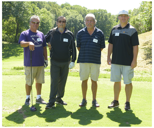 Oneida Nation golfers