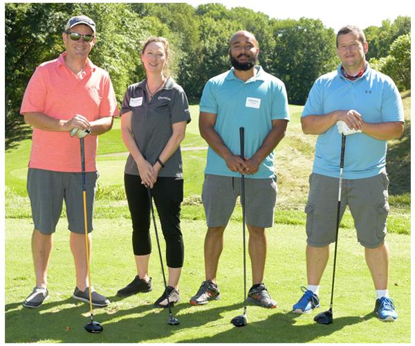 Schreiber Foods golfers