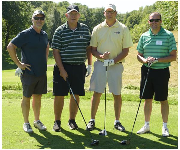 Wipfli golfers