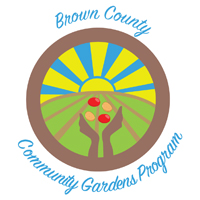 Brown County Community Gardens logo