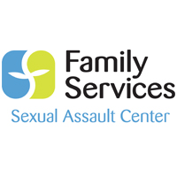 Sexual Assault Center of Family Services logo