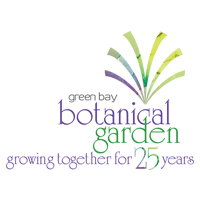 Green Bay Botanical Garden 25th anniv logo