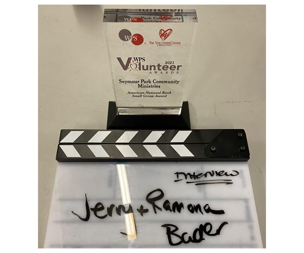 WPS Award and filming slate