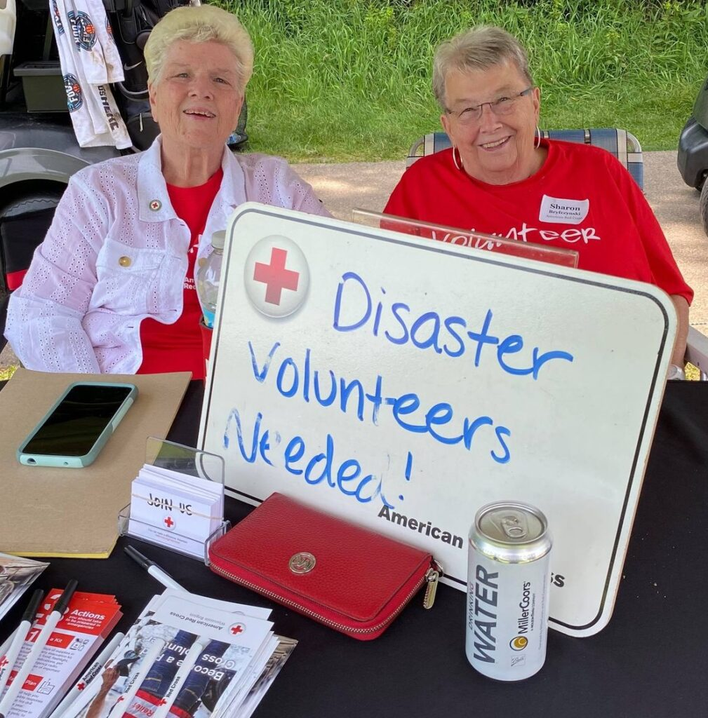 American Red Cross at 2021 golf outing