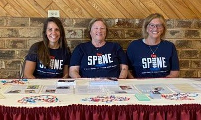 The Spine Project at 2021 golf outing