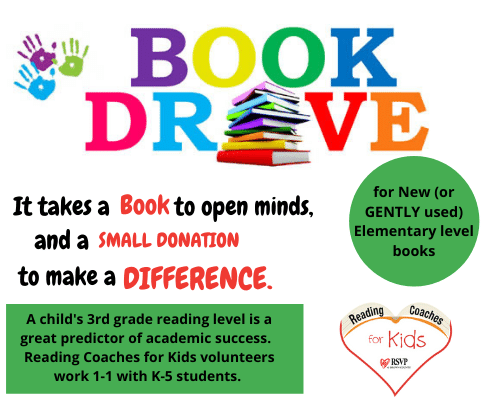 Book drive - 2021 Expo